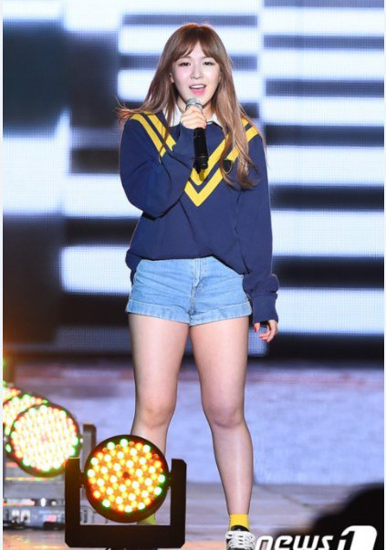 Netizens compliment Wendy's weight loss effort! :: Daily K