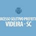 Processo seletivo Prefeitura de Videira. Inscrições se encerram hoje, 17
