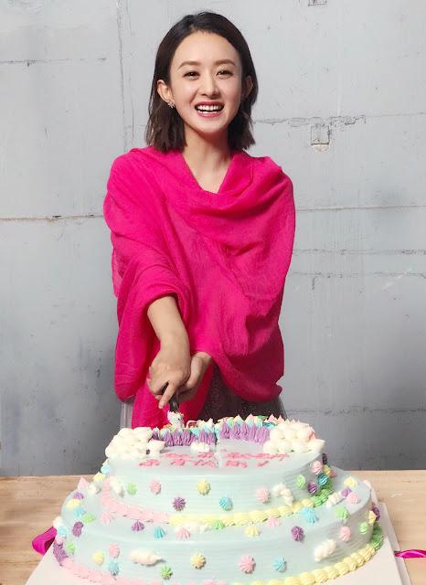 Our Glamorous Times Zhao Li Ying wraps filming