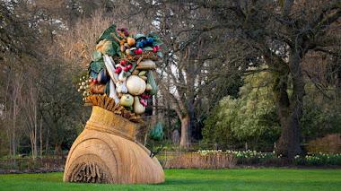 """""""The Four Seasons"""", esculturas a gran escala en los jardines de Wisley"""