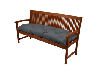 IRA Wooden Pad Flair Swing or 2 Seater Garden Bench Cushion, 150x50 cm on Amazon