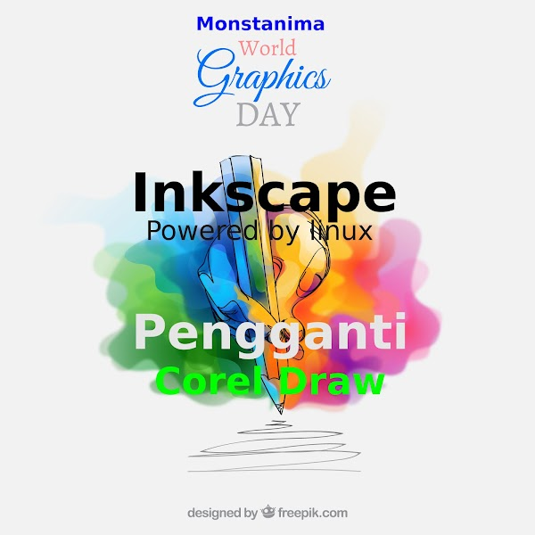 Inkscape Software Pengolah Vektor Powerfull Menggantikan Corel Draw