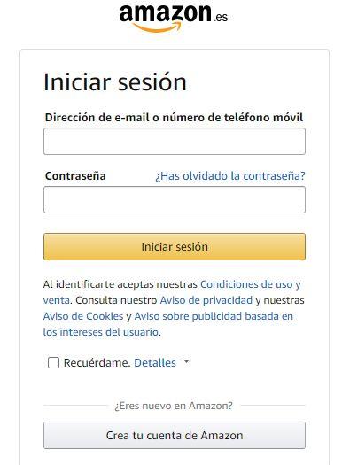 Registro en Amazon Afilifados