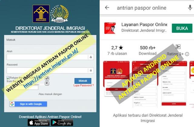 membuat e-paspor indonesia aplikasi dan web