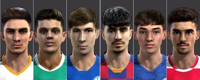 New Facepack #01-05-2020 For PES 2013