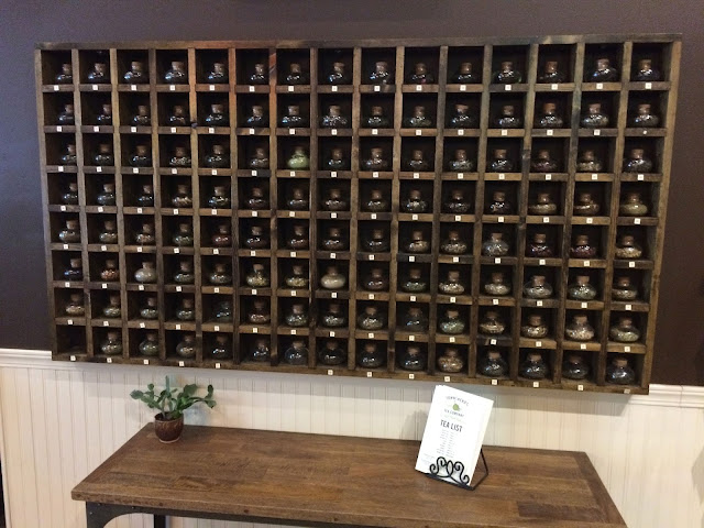 Townshend's Tea Wall of Scents