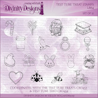 Divinity Designs Test Tube Treat Stamps
