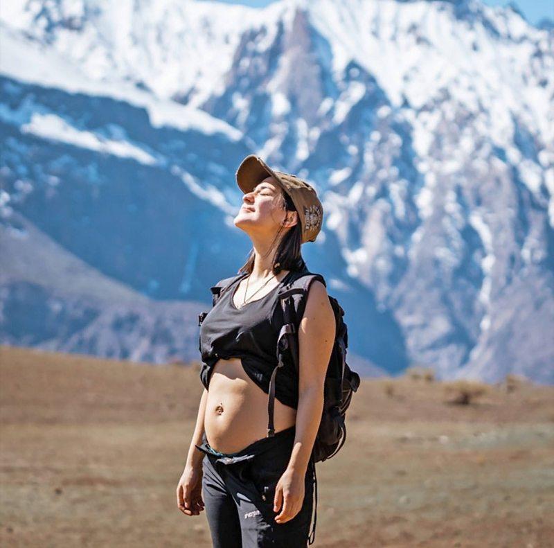 Rocío Toscano y su embarazo de mellizos