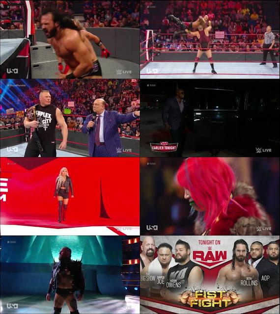 WWE Monday Night Raw 13 January 2020 720p HDTV