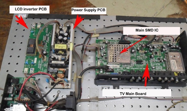 StandBy Mode Repaired - Videocon LCD TV - Tips And Trick Electronic
