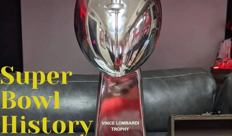 """Vince Lombardi Trophy """" Super Bowl"""""""