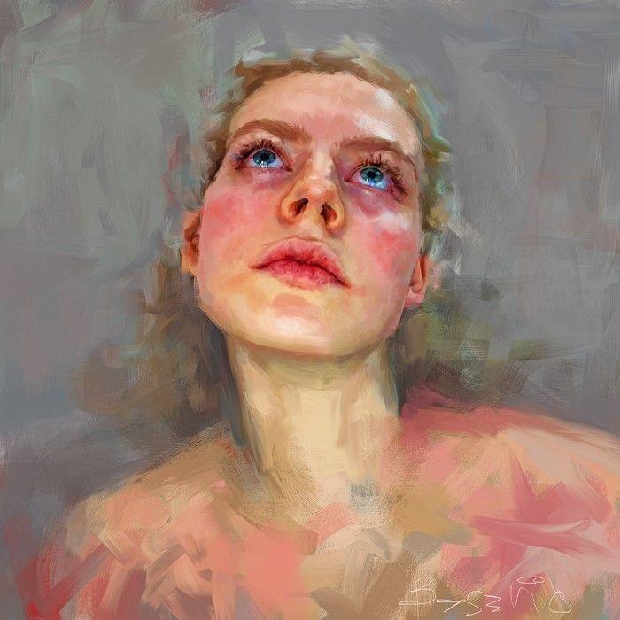 Эмоциональные портреты. Ivana Besevic