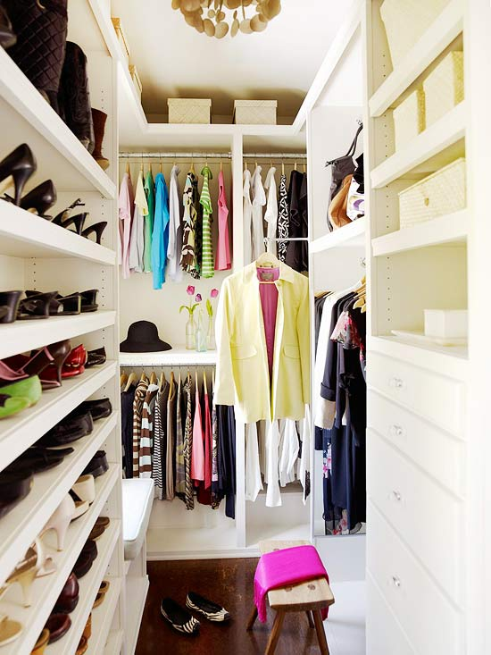 Modern furniture practical storage 2013 decorating ideas - Walk in closet ideas ...