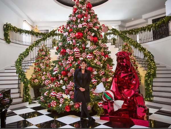 kris jenner interior decoration