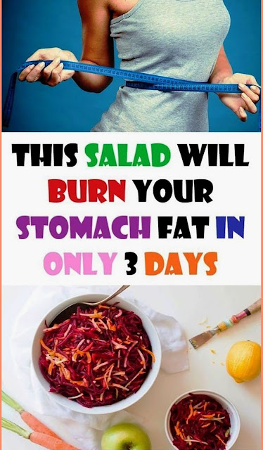 This Salad Will Burn Your Stomach Fat In Only 3 Days