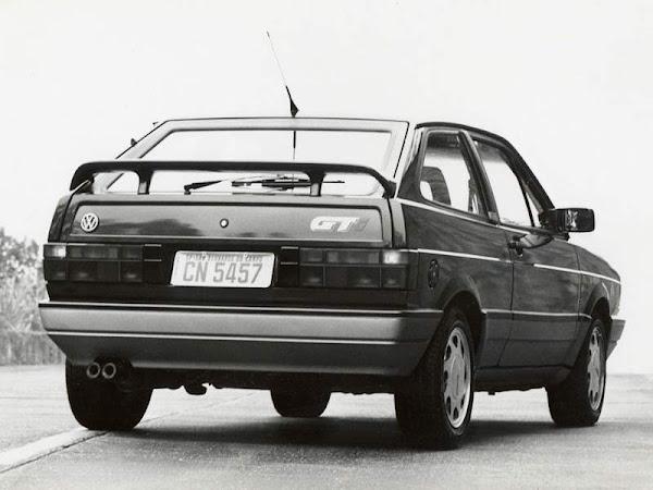 VW Gol GTI 1990 Azul Mônaco