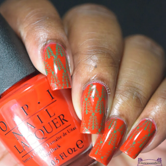 Challenge Your Nail Art Day 11 - Trees