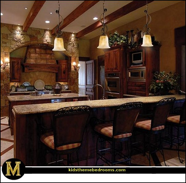 Italian Bistro Kitchen Decorating Ideas Compost Container Theme Bedrooms - Maries Manor: Tuscany