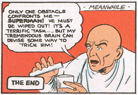 Ultra Humanite Ghandi plots to destroy Superman