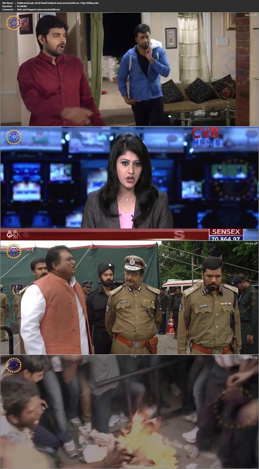 Political Rowdy 2018 Hindi Dubbed HDRip 720p at movies500.site