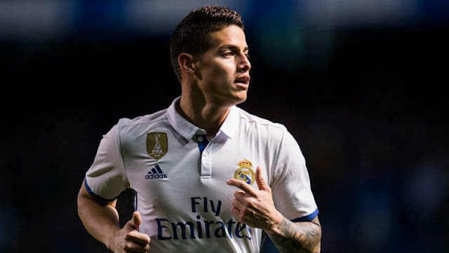 In danger, James Rodriguez remains loyal to Real Madrid
