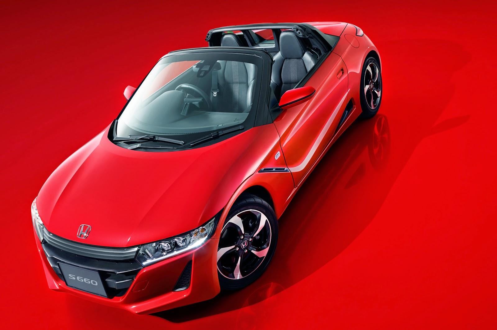 FAB WHEELS DIGEST (F.W.D.): Honda S660 Roadster (2015-?)