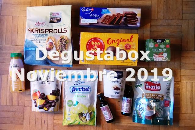 Degustabox Noviembre 2019-1