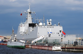 PLAN Chinese Navy type 052C