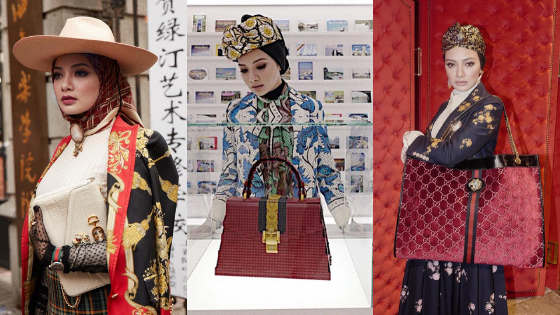 Fashion : Neelofa @  #GucciSS19 Event, Shanghai