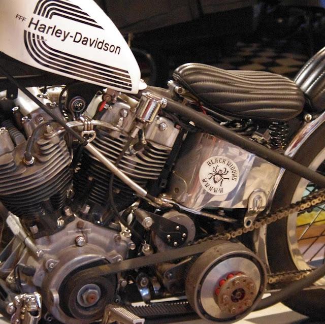 Harley Davidson Shovelhead By Funky Flip Flop Hell Kustom