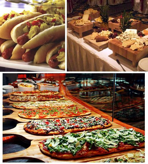 Wedding Food Stations Menu: For Better Or For Worse: Wedding Inspiration: Food Stations