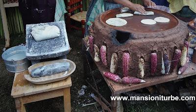 Tortillas Tradicionales en Santa Fe de la Laguna en la Región del Lago de Pátzcuaro