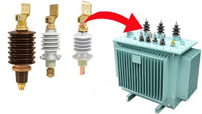 عوازل الاختراق فى المحولات Bushing insulators in transformers