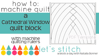 http://www.piecenquilt.com/shop/Books--Patterns/Books/p/Lets-Stitch---A-Block-a-Day-With-Natalia-Bonner---PDF---Cathedral-Window-x42280472.htm