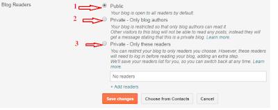 blogger blog readers