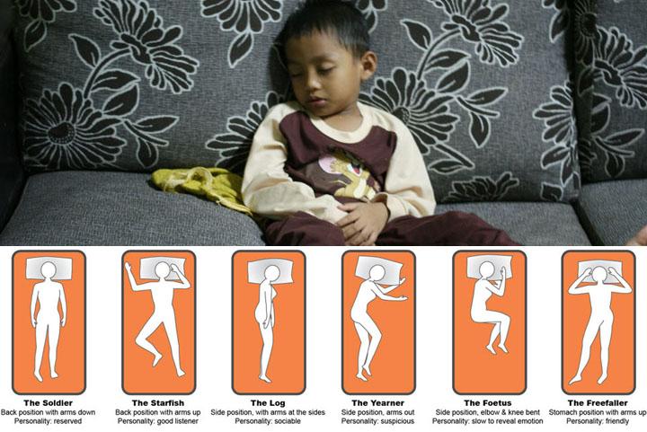 6 Cara Tidur Dedah Tingkahlaku Diri