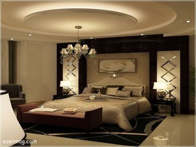 اسقف جبس بورد حديثة غرف نوم 15   Bedrooms Modern Gypsum Ceiling 15
