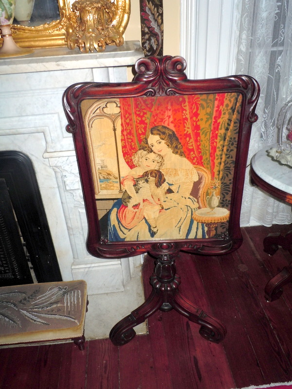 My Old Historic House A Fire Screen not a Fire Screen