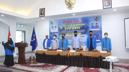 Rakerda DPD KNPI Kota Padang Panjang