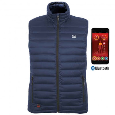Summit Men's Battery Heated Vest with Bluetooth