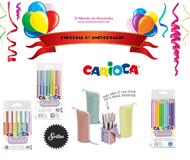 productos Carioca tono pastel