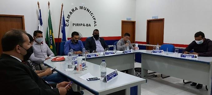 Piripá: Câmara Municipal homenageia ilustres representantes da Segurança Pública da cidade