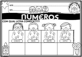 Educação infantil – numeros e quantidades