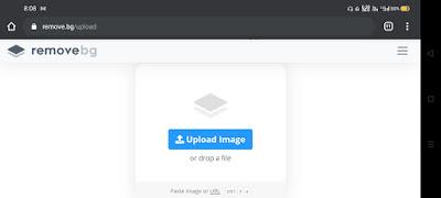 Visit the remove.bg website
