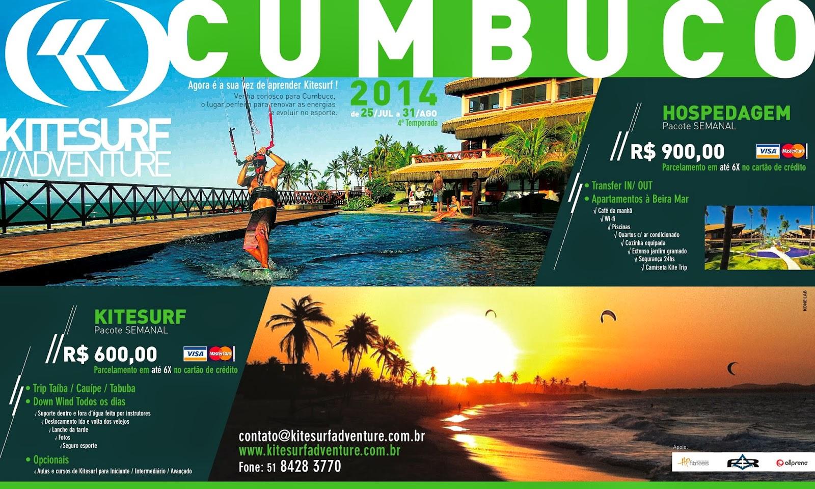 kitesurf adventure cumbuco 2014 ceara kitetrip brazil kiteboarding