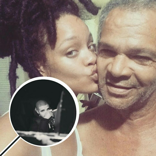 Rihanna Shares Sweet Bonding Photos Of Herself With Her Dad After She And Drake Reportedly Break Up