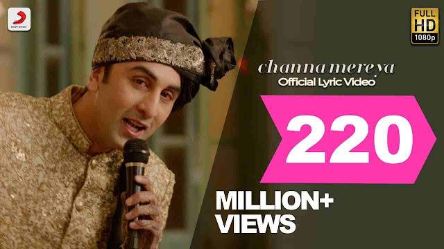 channa mereya lyrics - Arijit Singh