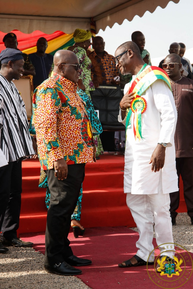 """""""Agricultural Sector Receiving Massive Investment"""" – President Akufo-Addo."""