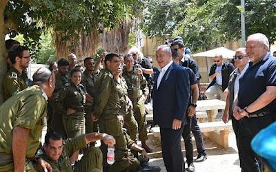 Netanyahu saúda os novos recrutas da IDF