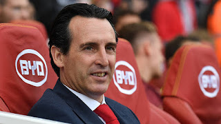 Unai Emery for Barclays Manager of the Month